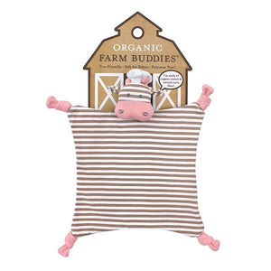 Apple Park Organic Farm Buddies Blankies by Apple Park -  Chef Cow Comforters - Nest 2 Me Baby Carriers Australia