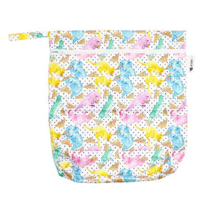 Designer Bums Party Animals Wet Bag Designer Bums wet bags - Nest 2 Me Baby Carriers Australia
