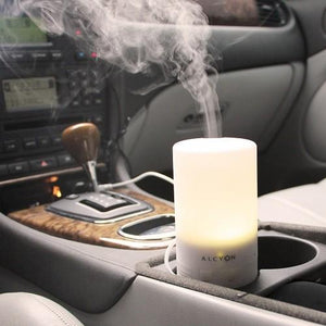 Alcyon Diffusers Passo Portable In Car and USB Ultrasonic Aromatherapy Diffuser 50mL 3-4hrs diffuser - Nest 2 Me Baby Carriers Australia