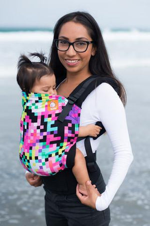 Tula Baby Carriers Australia Nest 2 Me Pixelated Tula Baby Carrier Tula Ergonomic Baby Carriers - Nest 2 Me Baby Carriers Australia