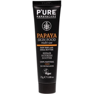 Pure Papayacare P'ure Papayacare Papaya Skin Food Paw Paw ointment cream with Shea Butter 25g paw paw ointment - Nest 2 Me Baby Carriers Australia