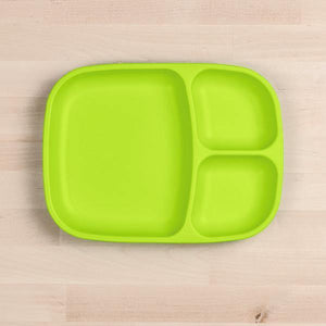 Replay Re-Play Divider Tray - Lime Green plates - Nest 2 Me Baby Carriers Australia
