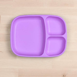 Replay Re-Play Divider Tray - Purple plates - Nest 2 Me Baby Carriers Australia