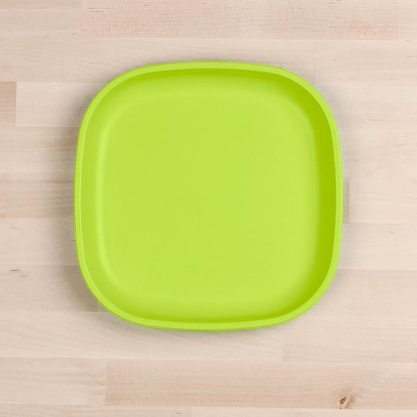 Replay Re Play Flat Plate - Lime Green bowls - Nest 2 Me Baby Carriers Australia