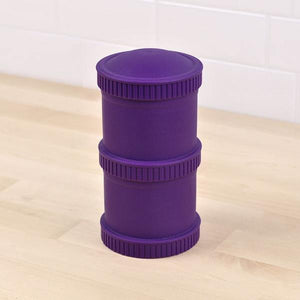 Replay Re-Play Snack Stack 2 Pod - Amethyst snack stack - Nest 2 Me Baby Carriers Australia