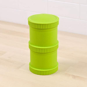 Replay Re-Play Snack Stack 2 Pod - Lime Green snack stack - Nest 2 Me Baby Carriers Australia