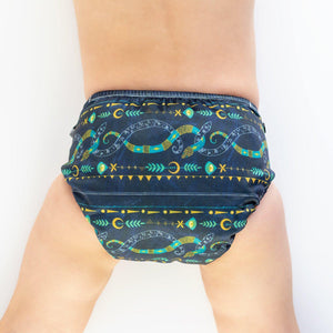 Designer Bums Sacred Snake Designer Bums Nappy Reusable nappy - Nest 2 Me Baby Carriers Australia