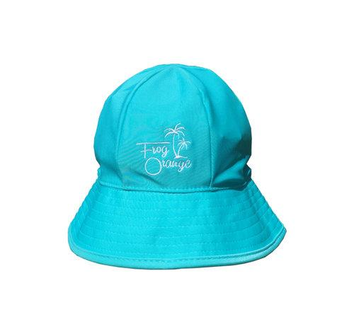 Sky Blue Quick Dry USP 50+ Baby Bucket Hat by Frog Orange Children's Caps & Hats Frog Orange