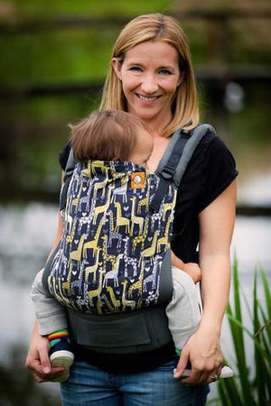 Tula Baby Carriers Australia Nest 2 Me Spotted Love - Tula Ergonomic Standard Baby Carrier Tula Ergonomic Baby Carriers - Nest 2 Me Baby Carriers Australia