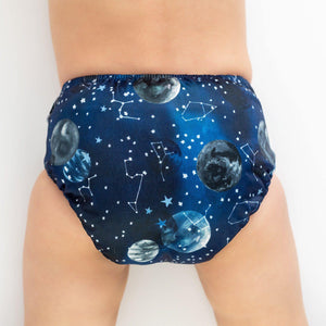 Designer Bums Star Gazing Designer Bums Nappy Reusable nappy - Nest 2 Me Baby Carriers Australia