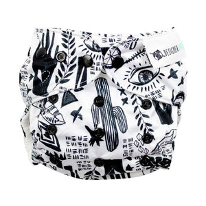 Designer Bums The Alchemist Designer Bums Art Pop AI2 Modern Cloth Nappy Nappies - Nest 2 Me Baby Carriers Australia