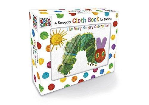 The Very Hungry Caterpillar Cloth Book cloth fabric books Eric Carle