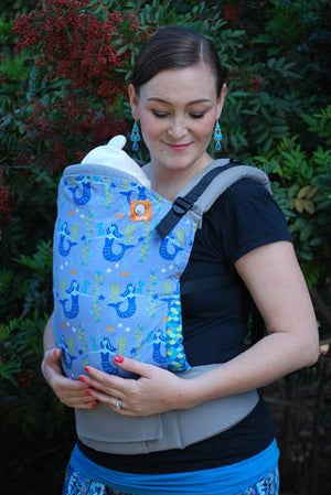 Tula Baby Carriers Australia Nest 2 Me Tula Ergonomic Toddler Carrier - Jubilee Tula Ergonomic Toddler Carriers - Nest 2 Me Baby Carriers Australia