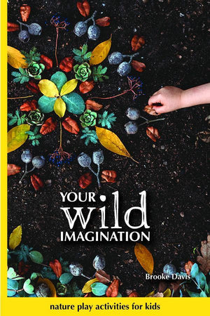Your Wild Books Your Wild Imagination Book One by Brooke Davis books - Nest 2 Me Baby Carriers Australia