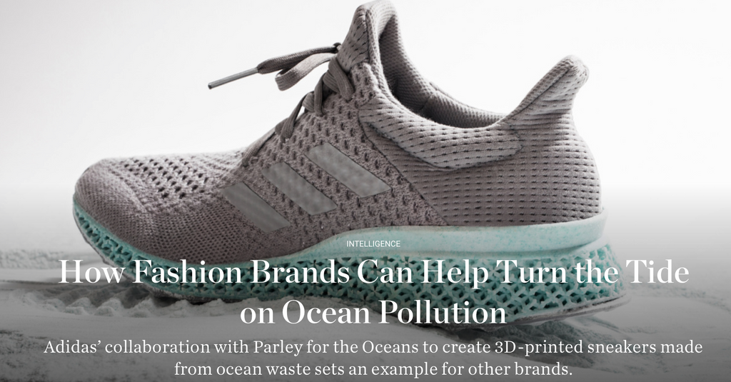 How the fashion industry can help the ocean's pollution