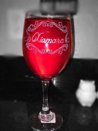 Custom Wineglass - EV Designs