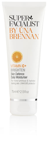 Superfacialist Vitamin C Brighten Skin Defence Daily Moisturiser