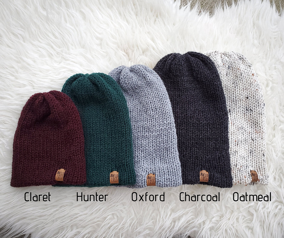 Slouchy Beanie - Baby + Kids Sizes
