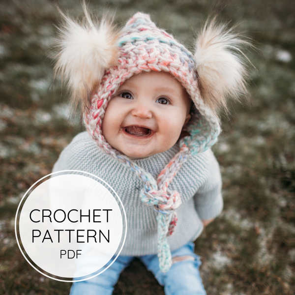 Crochet Pattern - the Coastal Cub Hat