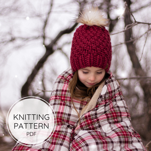 The Alpine Luxe Toque - Knitting Pattern