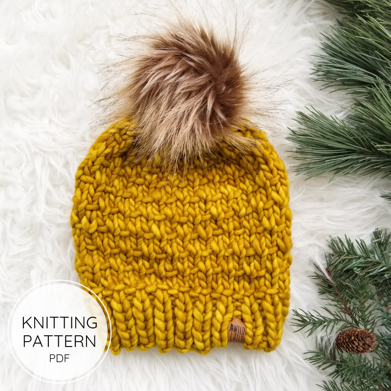 The Alouette Hat - Knitting Pattern