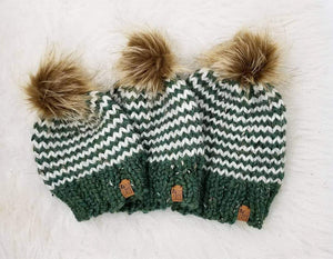 Adult Knit Toque - Striped - Custom Order