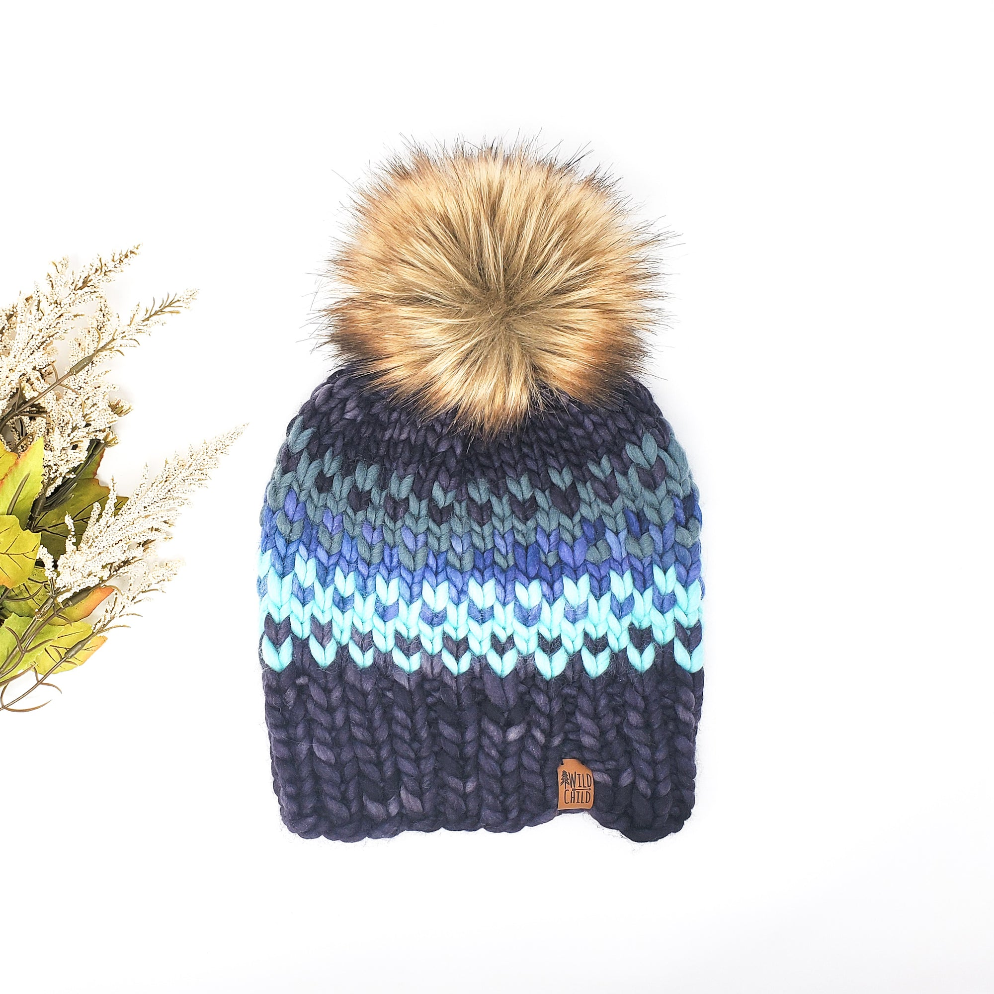 Stormy Night Multicoloured Hat (Adult)