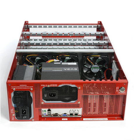Backblaze Storage Pod 5.0: Fully Assembled - Backup Pods