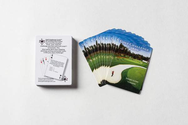 Short Game Edition - Golf Challenge Cards