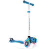 Globber Primo Plus 3 Wheel Adjustable Height Scooter w/ LED Light Up Wheels