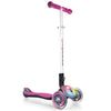 Globber Elite 3 Wheel Folding Adjustable Height Scooter w/ LED Lights