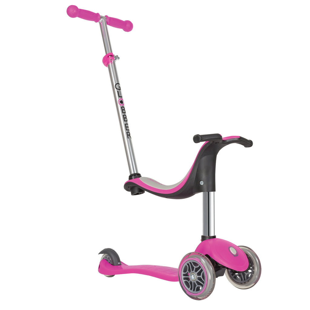globber evo 3 wheel 4 in 1 convertible scooter globber scooters usa. Black Bedroom Furniture Sets. Home Design Ideas
