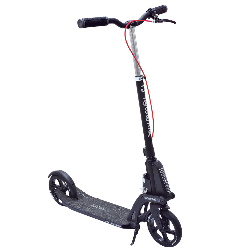 Globber Adult One K Active Automatic Folding Scooter w/ Hand Brake
