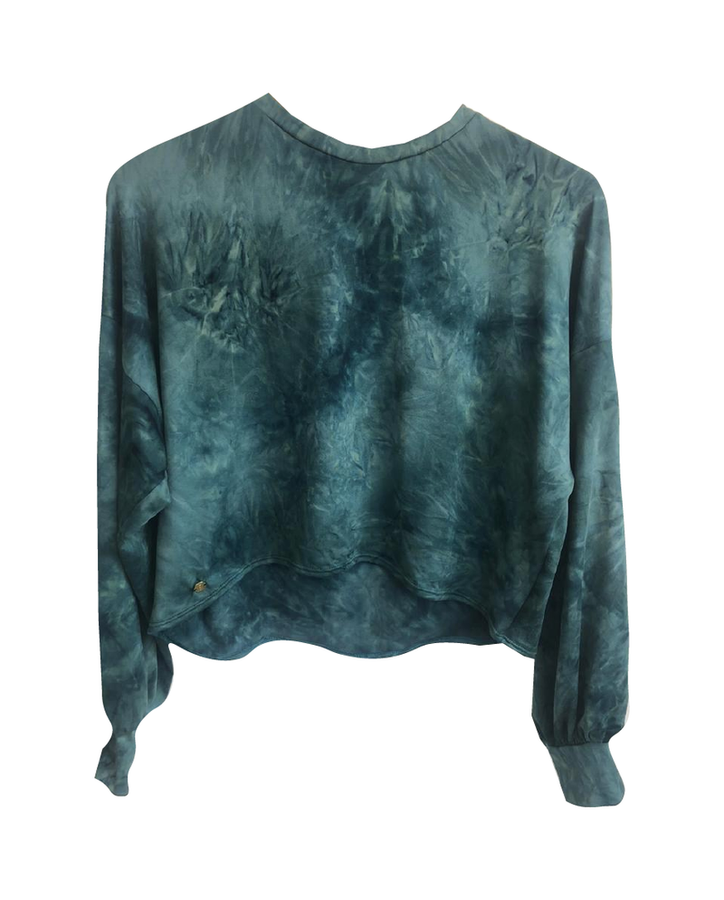 Sweater Tie Dye Green
