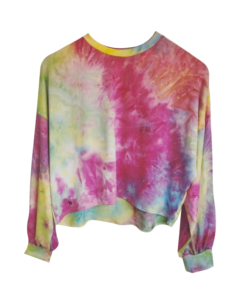 Sweater Tie Dye Colorful