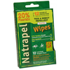 Natrapel Tick & Insect Repellant Field Wipes (12pk)