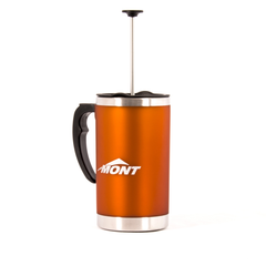Mont Coffee Plunger Mug (Orange)