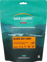 Back Backcountry Cuisine  Classic Beef Curry (1 Serve)