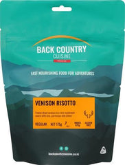 Back Backcountry Cuisine Venison Risotto (1 Serve)