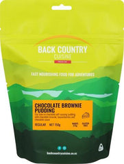 Back Backcountry Chocolate Brownie Pudding