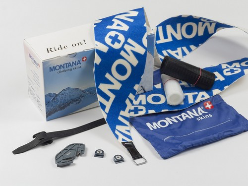 Montana Montanyl Climbing Skin Cut & Go Set - XL,140mm