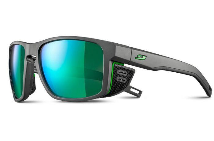 Julbo Shield Glasses - Grey/Green
