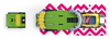 Rottefella NTN Freeride Rasta (Colour) Long Binding
