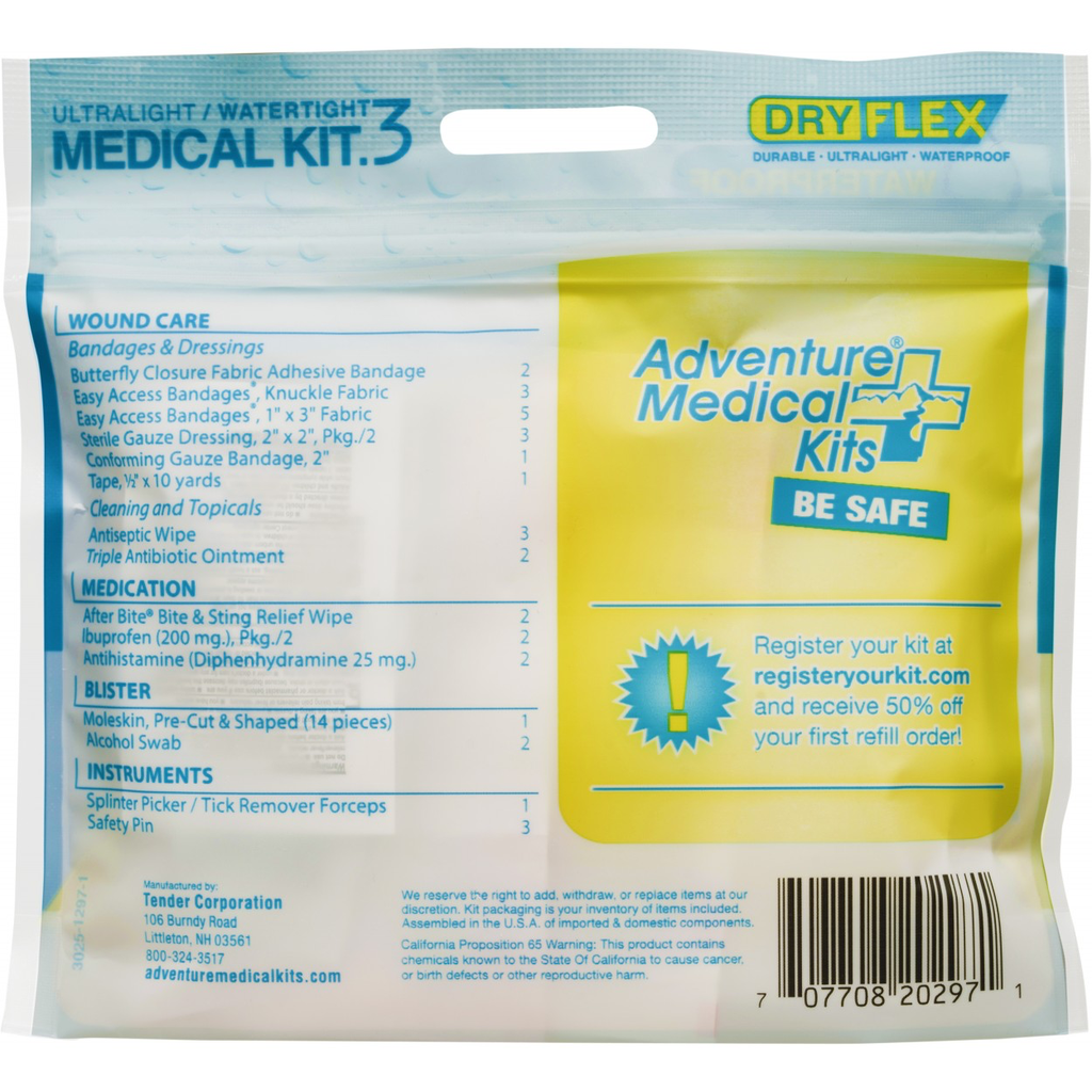AMK Ultralight & Watertight .3 Medical Kit