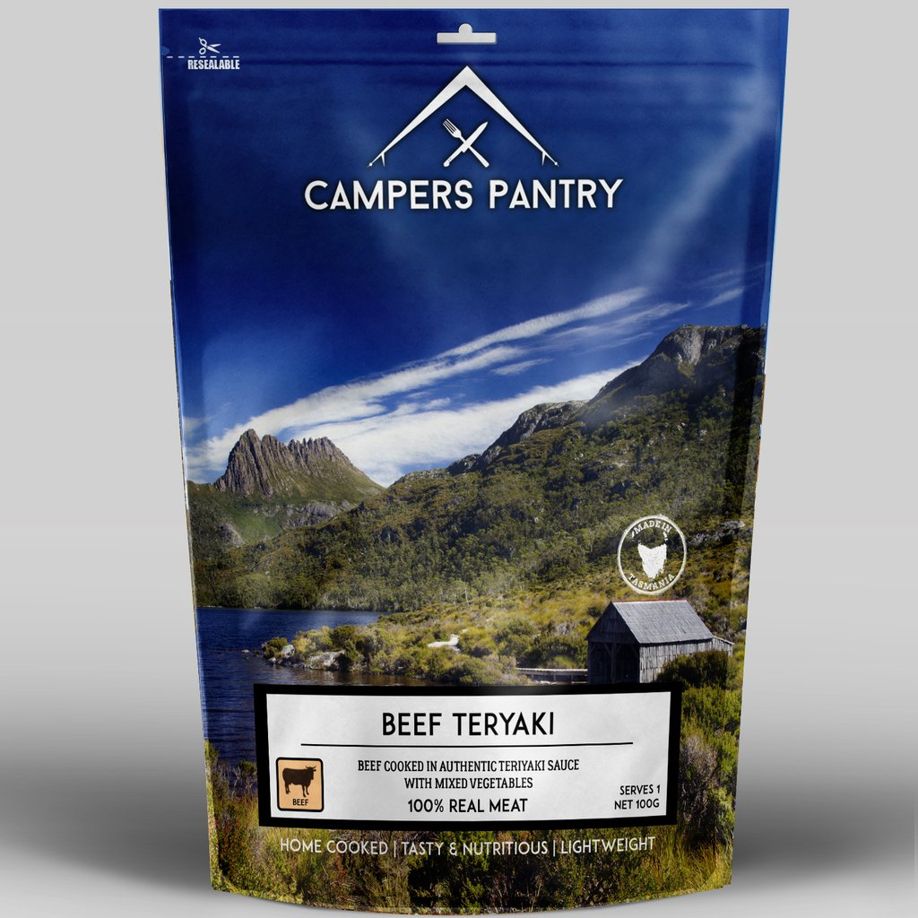 Campers Pantry Mains (1 Serve, Beef Teriyaki)