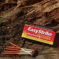 EASY STRIKE WIND & WATERPROOF MATCHES