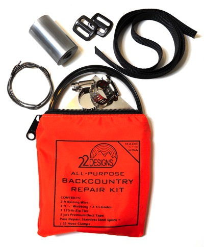 22 Designs All Purpose Back Country Repair Kit