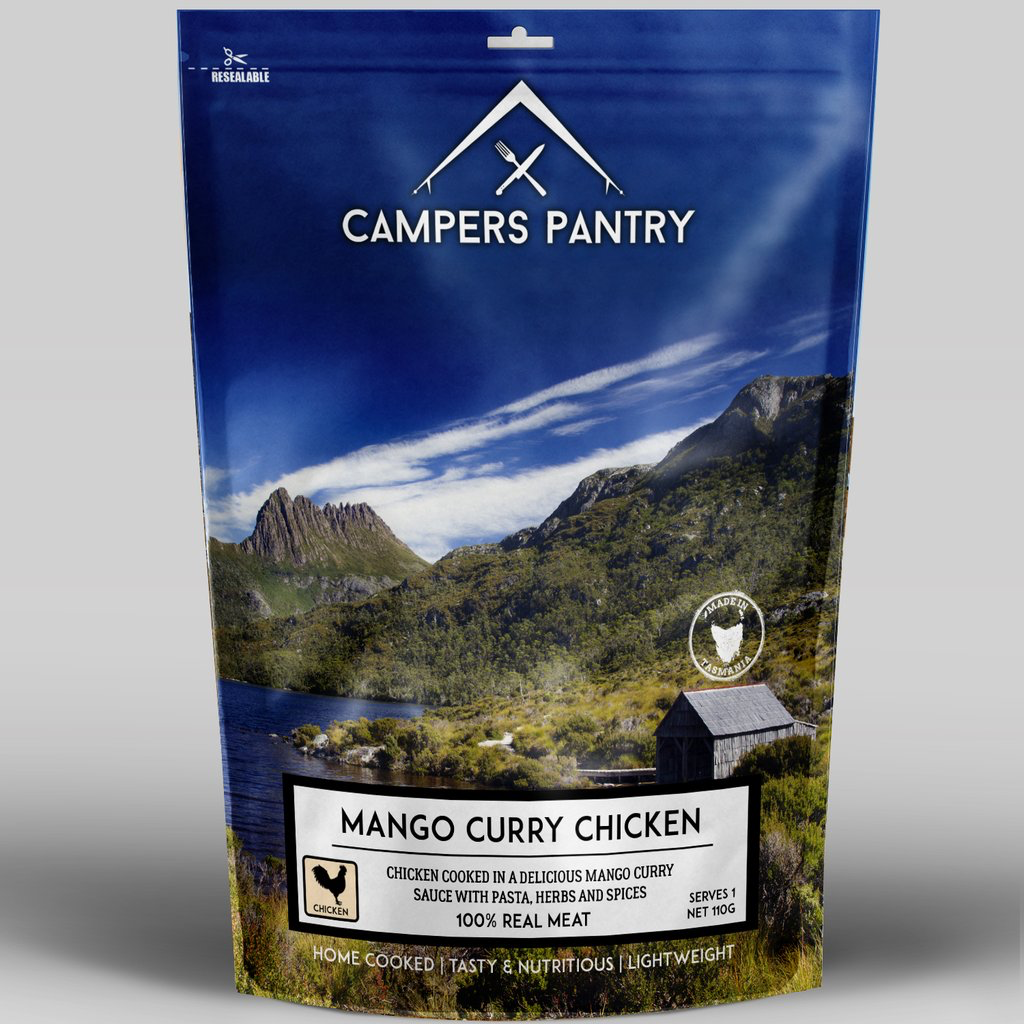 Campers Pantry Mains (1 Serve, Mango Curry Chicken)