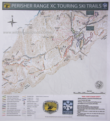 Perisher XC Ski Trails Cloth Map