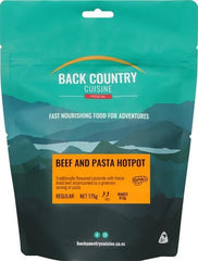 Backcountry Cuisine Beef & Pasta Hotpot (Small)